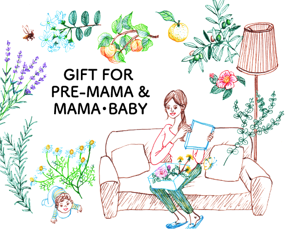GIFT FOR PRE-MAMA & MAMA・BABY