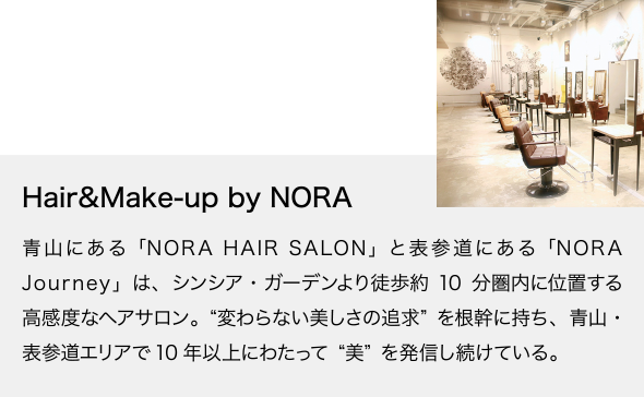 Hair&Make-up by NORA