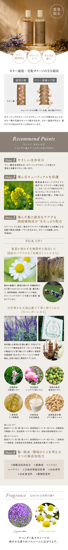 rinRen(凜恋 リンレン) カラーケア シャンプー&トリートメントラベンダー&カモミール 各300mL