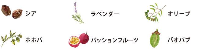 ママバターカラーオーガニック素材