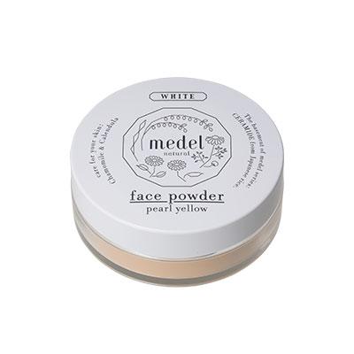 medel natural(メデル ナチュラル) フェイスパウダー ワイルドローズアロマ パールイエロー SPF18 PA++ 9g
